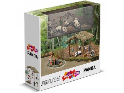 BGA 1031 Panda BUDDY TOYS
