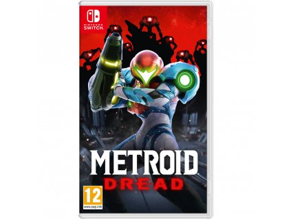 Metroid Dread hra Nintendo