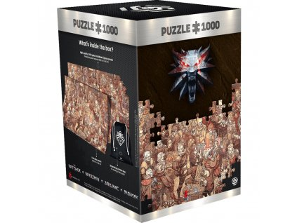 Puzzle THE WITCHER: BIRTHDAY