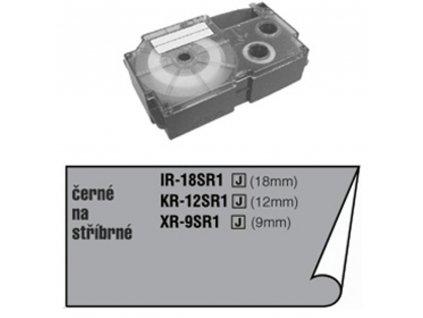 XR 18 SR1 (stříbrná černý tisk) CASIO