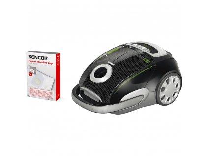 SVC 9000BK 4AAAA EcoPower vysavač SENCOR  + microUSB nabíječka do auta CELLY 1A v hodnotě 189,-