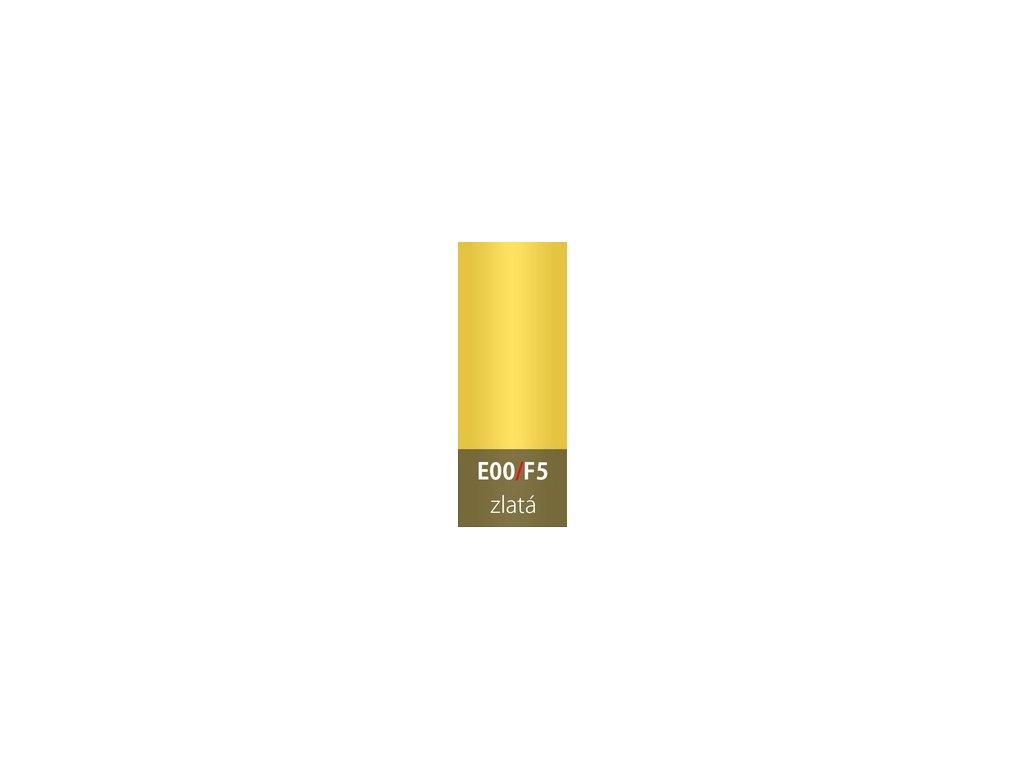 Přechodová lišta 30mm oblá ZLATÁ E00