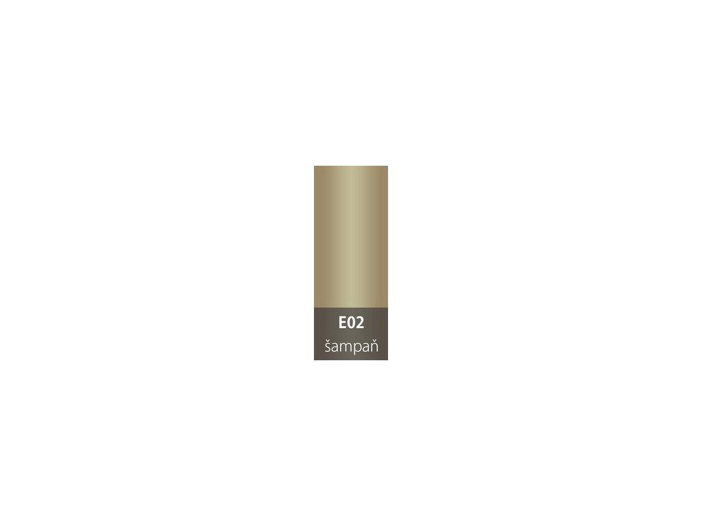 Přechodová lišta 30mm oblá ŠAMPAŇ E02