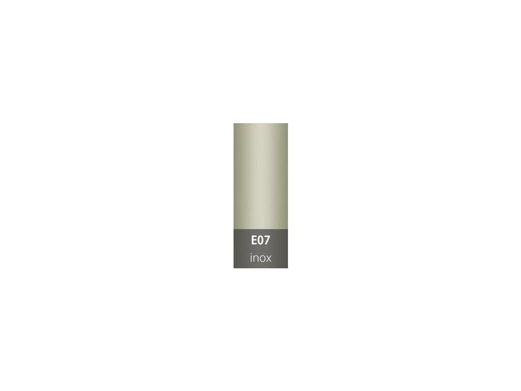 Přechodová lišta 30mm oblá INOX E07
