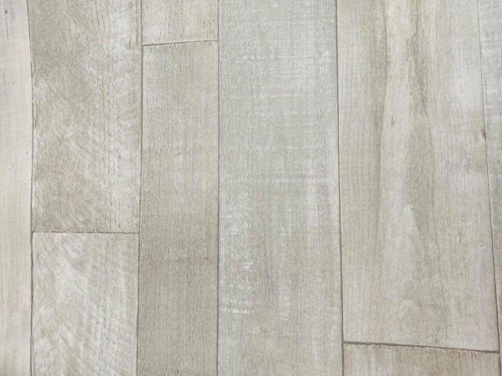 Zbytková role PVC - Euroline Vintage Pine Snow