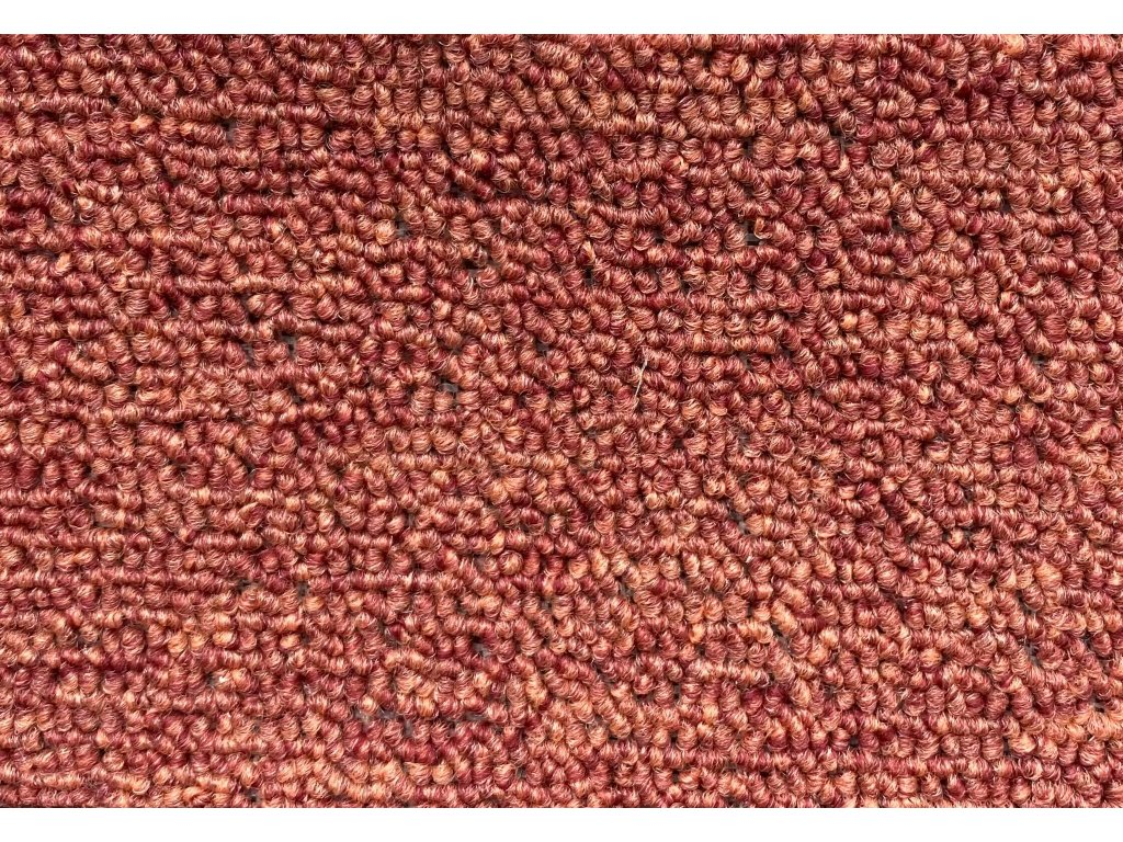 metrazovy koberec rambo bet 38 červená eurokoberce