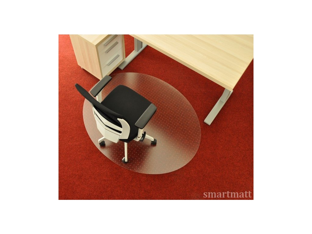 Podložka pod židli smartmatt na koberec 5300PCTD (4) (Custom)
