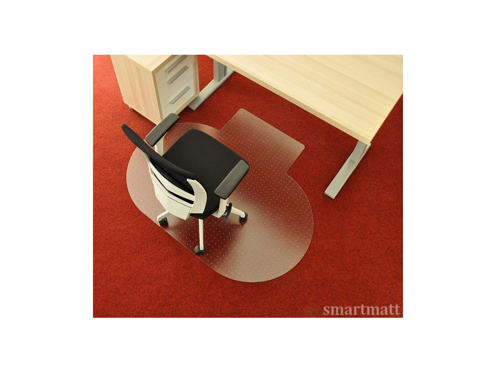 Podložka pod židli smartmatt na koberec 5300PCTX (4) (Custom)