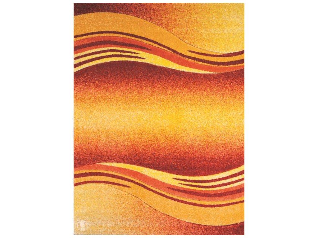 Kusový koberec - Enigma 9358/04 orange