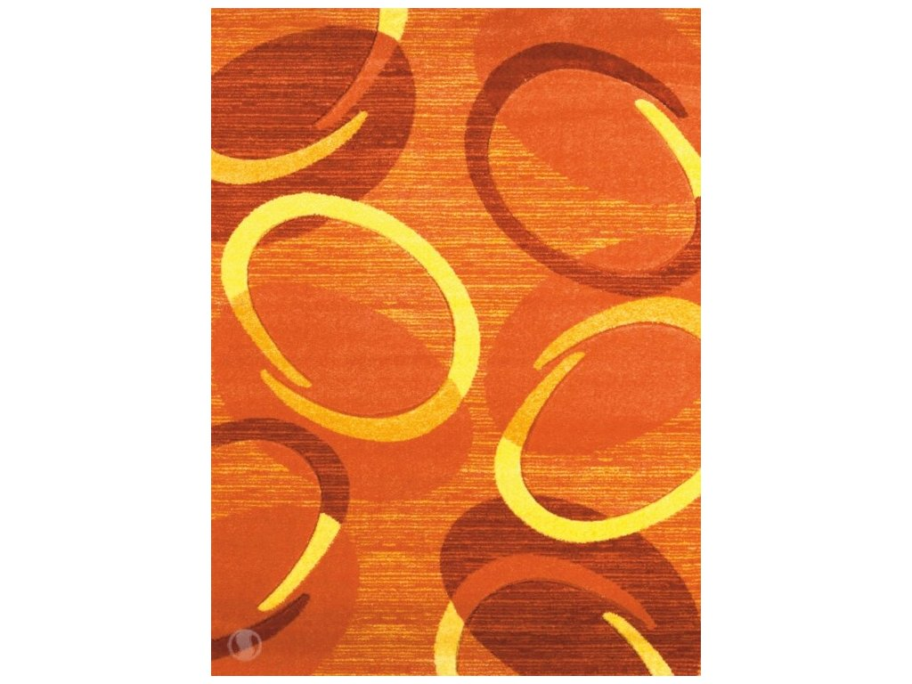 Kusový koberec - Florida 9828/05 orange