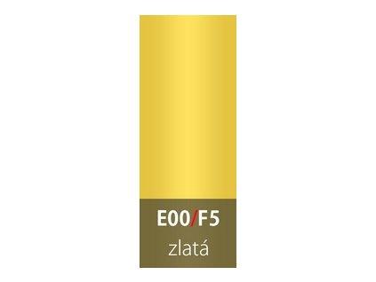 Přechodová lišta 30mm oblá ZLATÁ E00  93cm a 270cm