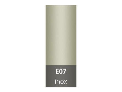 Přechodová lišta 30mm oblá INOX E07  93cm