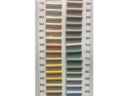 Soklové lišty Fatra vzorkovnice barev