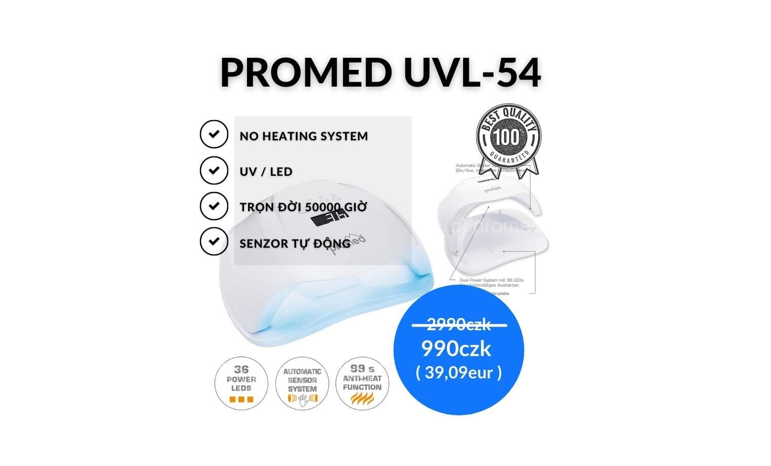 ĐÊN UV/LED UVL-54 - 990czk / 39,09eur