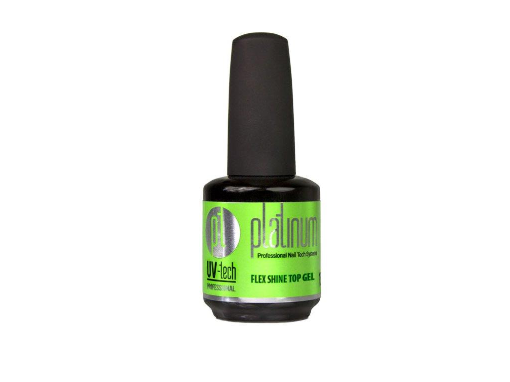 Platinum PLATINUM UV-tech Flex Shine Top Gel, 15ml