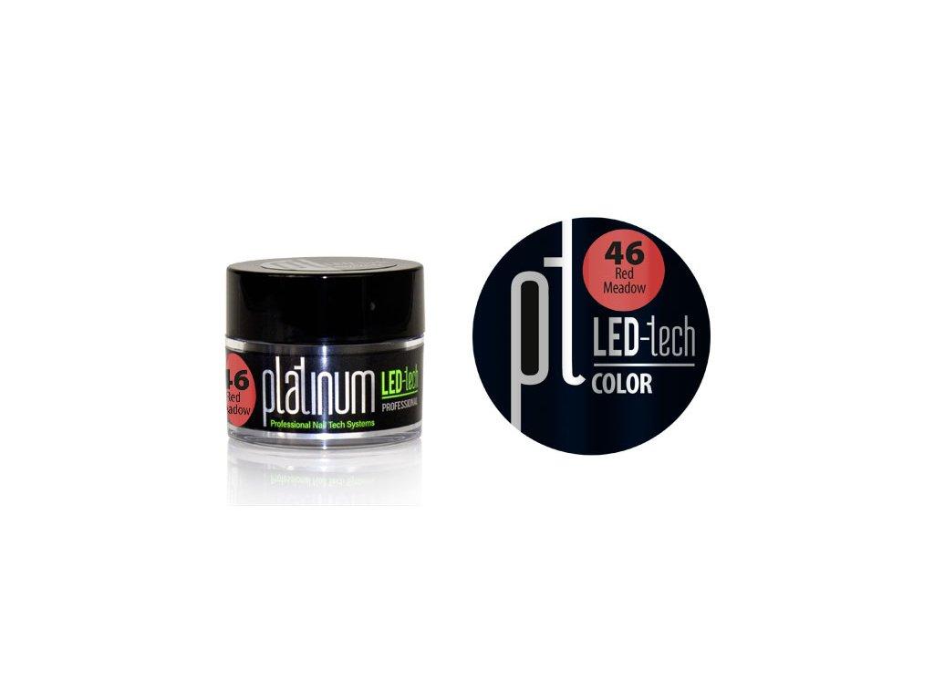 Platinum PLATINUM LED-tech COLOR Red Meadow (46), 9g