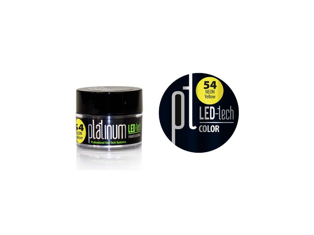 Platinum PLATINUM LED-tech COLOR Neon Lemon (54), 9g
