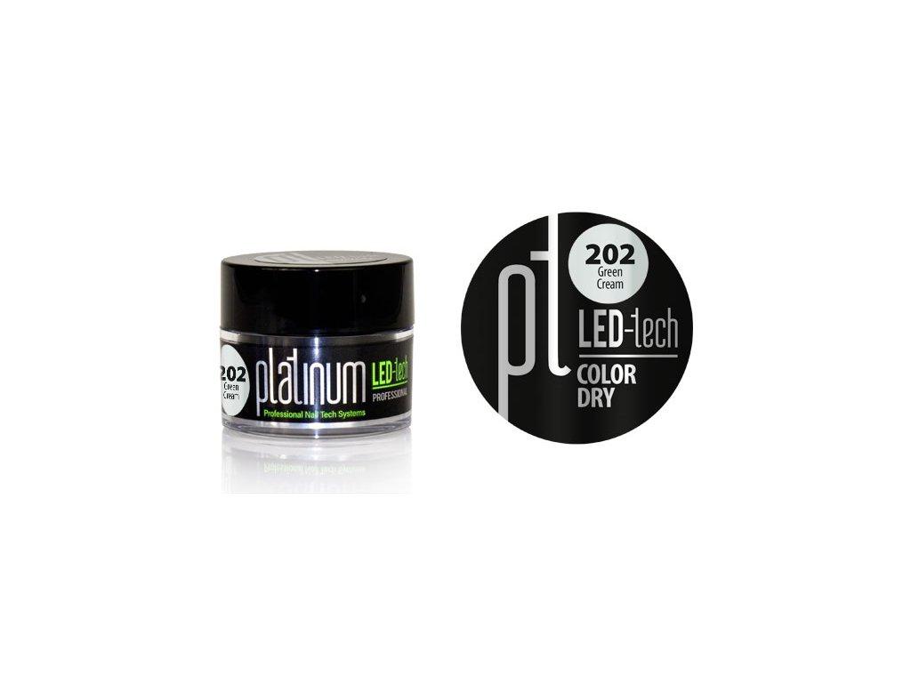 Platinum PLATINUM LED-tech COLOR DRY Green Cream (202), 9g