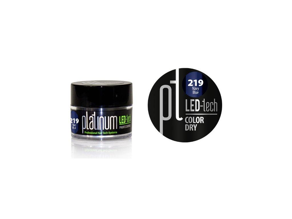 Platinum PLATINUM LED-tech COLOR DRY Navy Blue (219), 9g