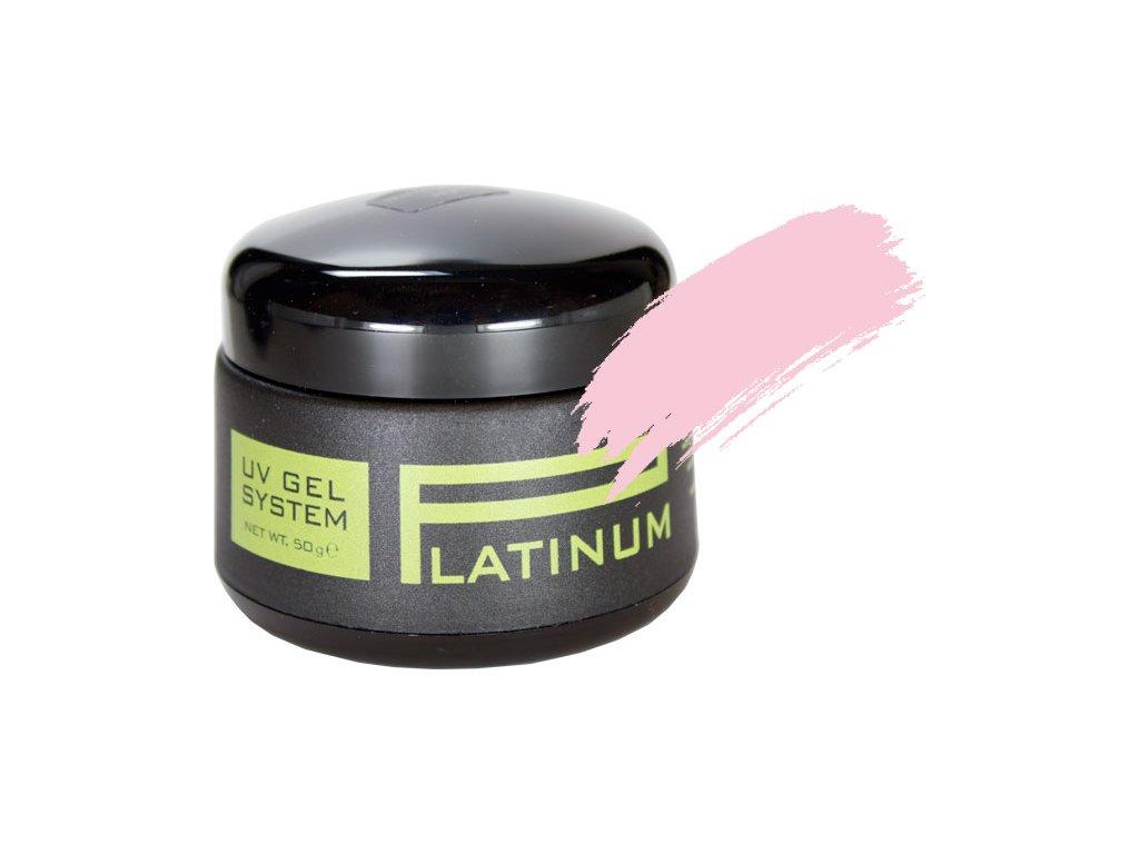 Platinum PLATINUM UV GEL - màu hồng nhạt  - SOFT PINK, 50g