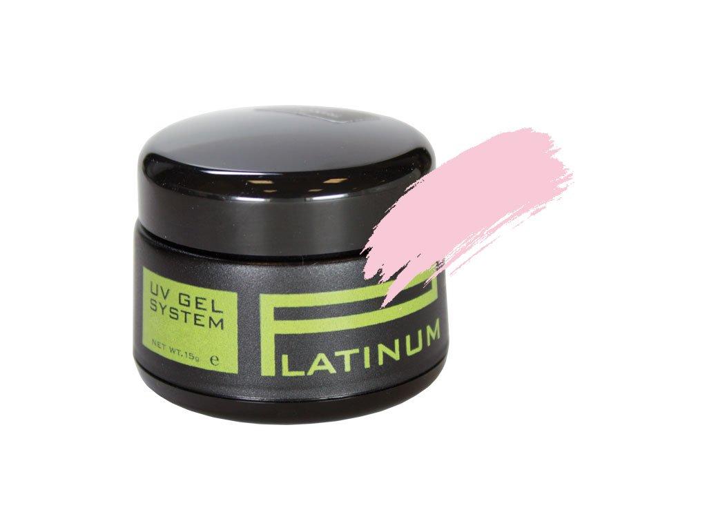 Platinum PLATINUM UV GEL - màu hồng nhạt - SOFT PINK, 15g