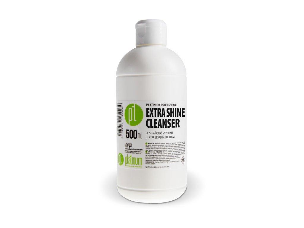 Platinum PLATINUM PROFESSIONAL EXTRA SHINE CLEANSER - Chất chùi nước tiết (cồn chùi) với hiệu ứng bo