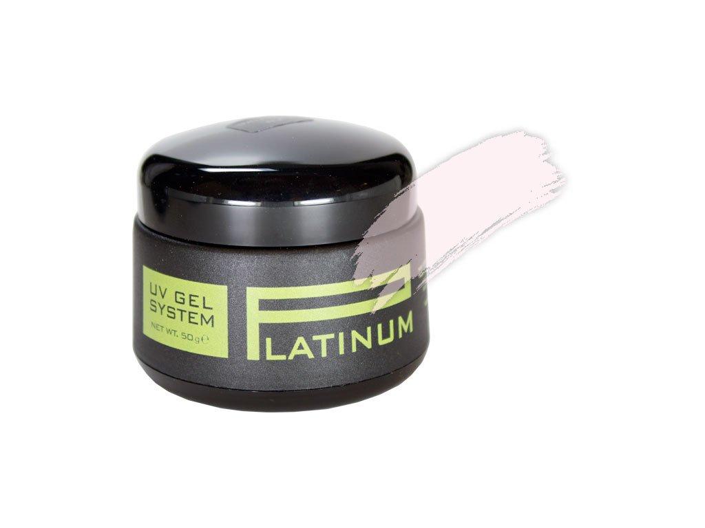 Platinum PLATINUM UV GEL - TRANSPARENT PINK, 50g