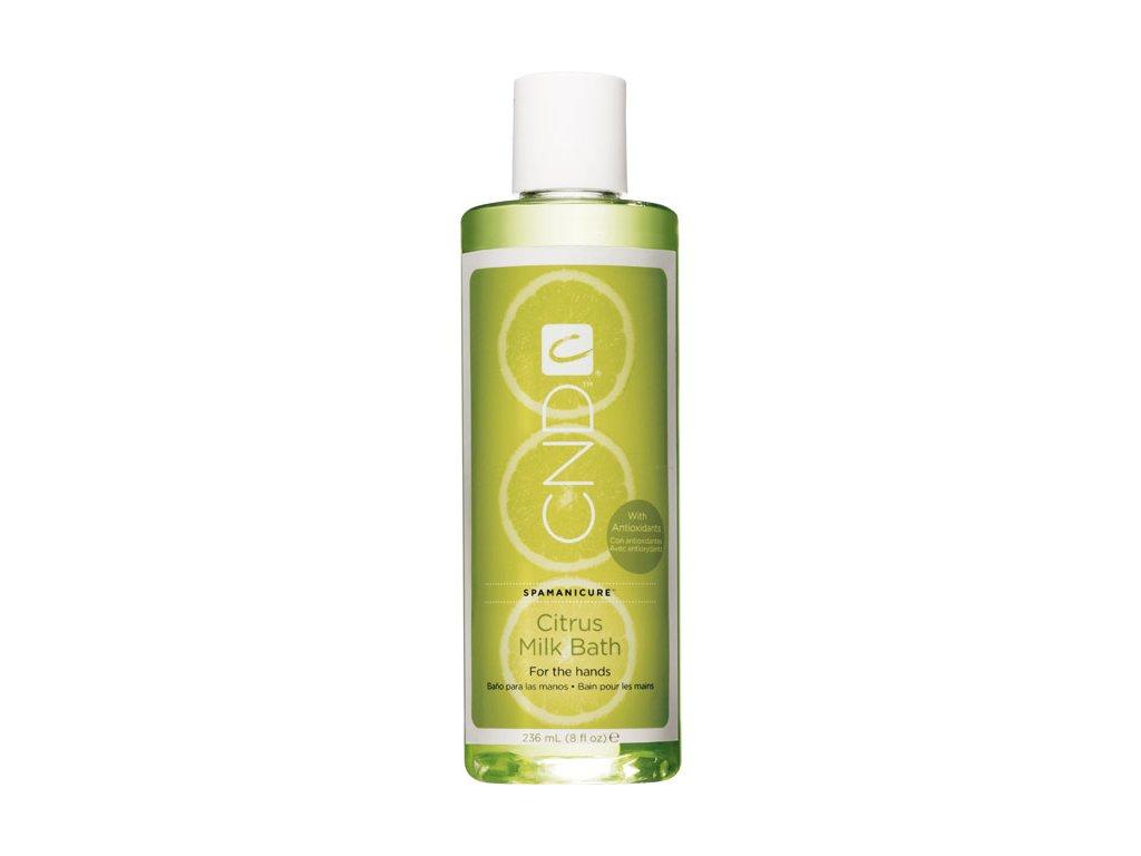 CND OUTLET SpaManicure Citrus Milk Bath 8oz (236ml), dầu-sữa tắm thức tỉnh và sảng khoái