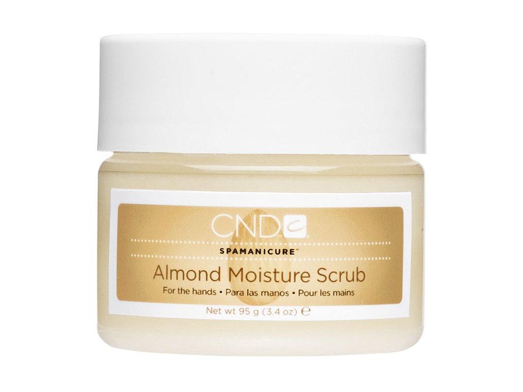 CND Spa Manicure Almond Moisture Scrub, 3.4oz (95g), peeling làm mịn và nuôi dưỡng