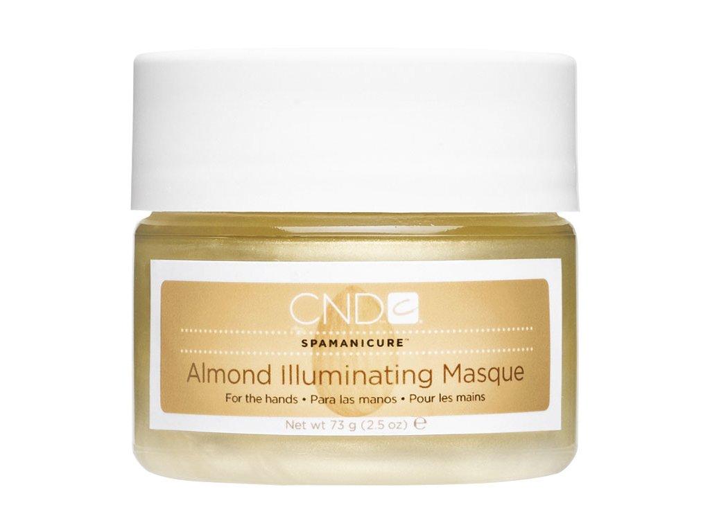 CND SpaManicure Almond Illuminating Masthìa, 2.5oz (73g), mặt nạ dinh dưỡng và dưỡng ẩm óng ánh