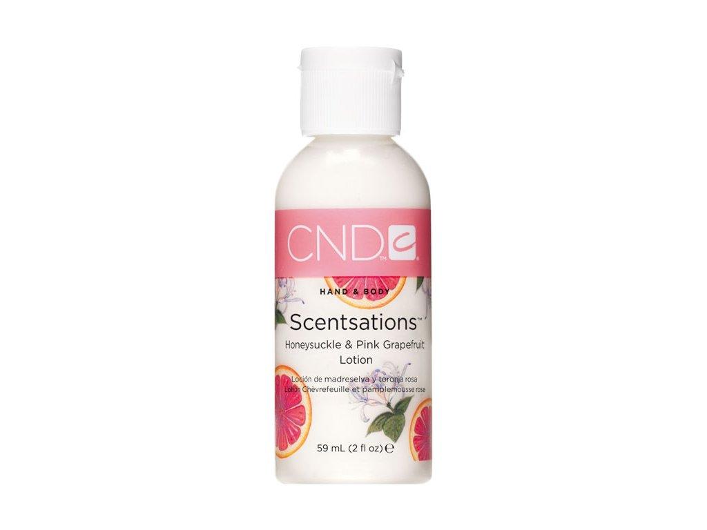 CND SCENTSATIONS™ HONEYSUCKLE & PINK GRAPEFRUIT sữa bôi da kim ngân và bưởi đào,  2oz (59ml)