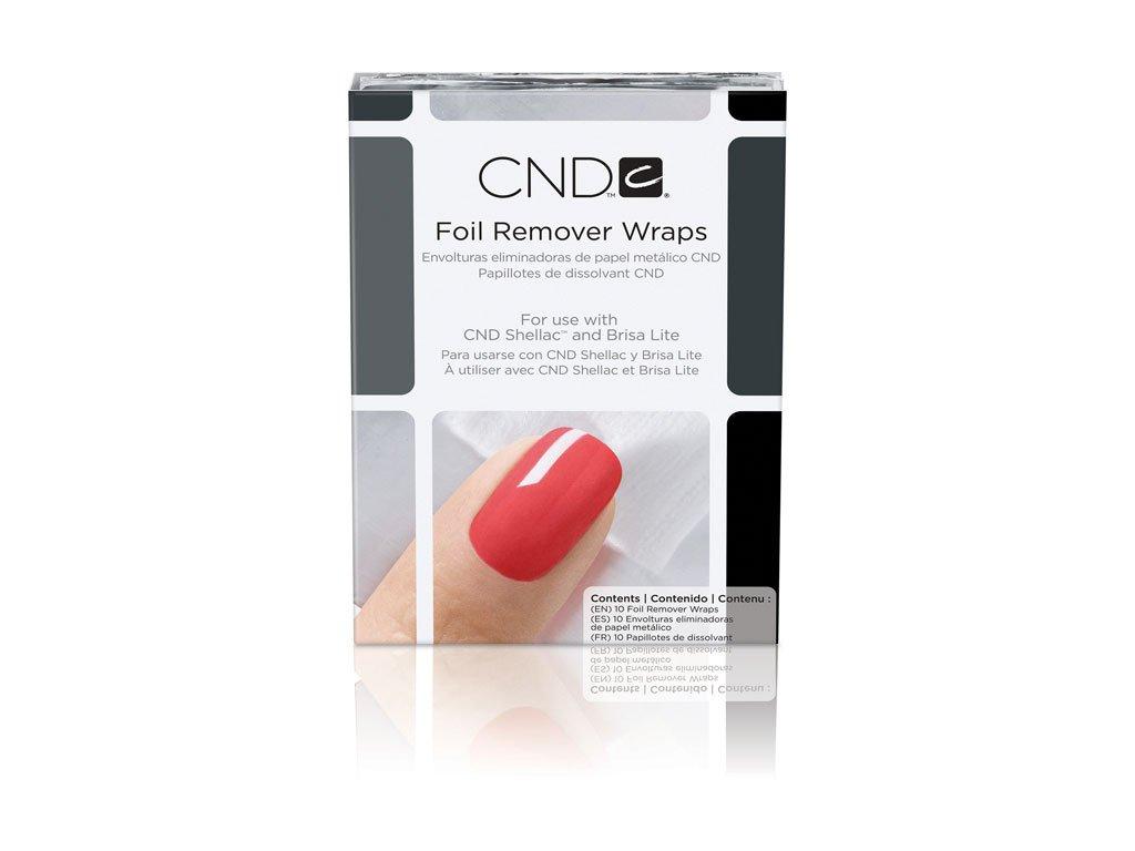 CND SHELLAC™ - FOIL REMOVER WRAPS 10 - FOIL để loại bỏ nhanh chóng và nhẹ nhàng 10c