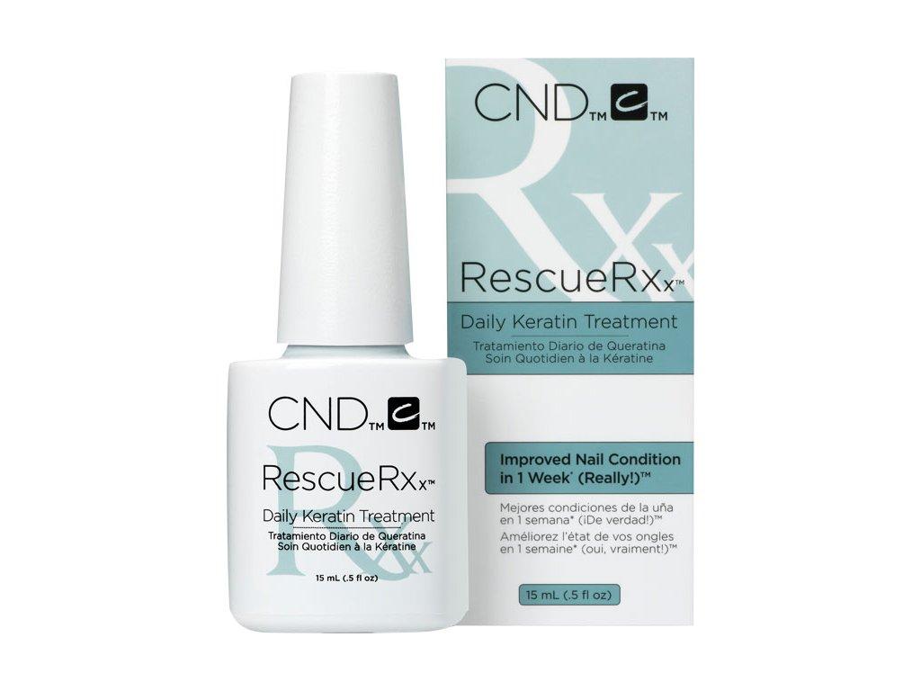 CND RESCUERXx™ - giải cứu cho móng bị tổn thương, 0.5oz (15ml)