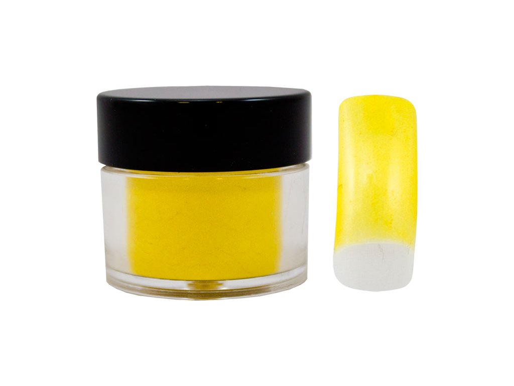 Platinum COLOR EFFECT PIGMENT - bột màu pha với gel - PEARL YELLOW - 7ml (1)