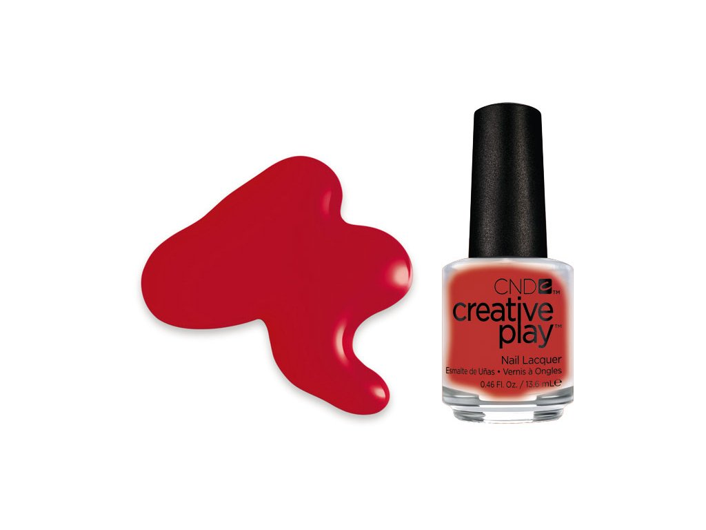 CND CND™ Creative Play™ LAK - RED Y TO ROLL (412) 0.46oz (13,6 ml)