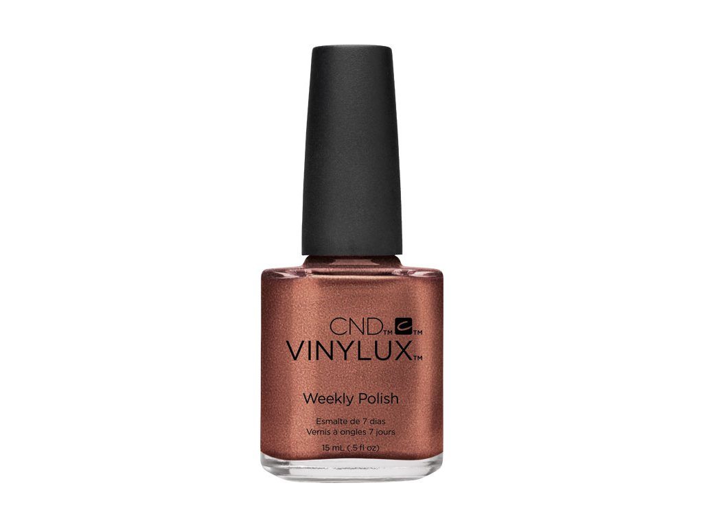 CND VINYLUX - WEEKLY POLISH - sơn móng một tuần - LEATHER SATCHEL (225) 0.5oz (15ml)