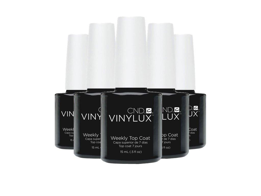CND VINYLUX - WEEKLY TOP COAT - sơn móng một tuần - lớp phủ 0,5oz (15ml) 6c