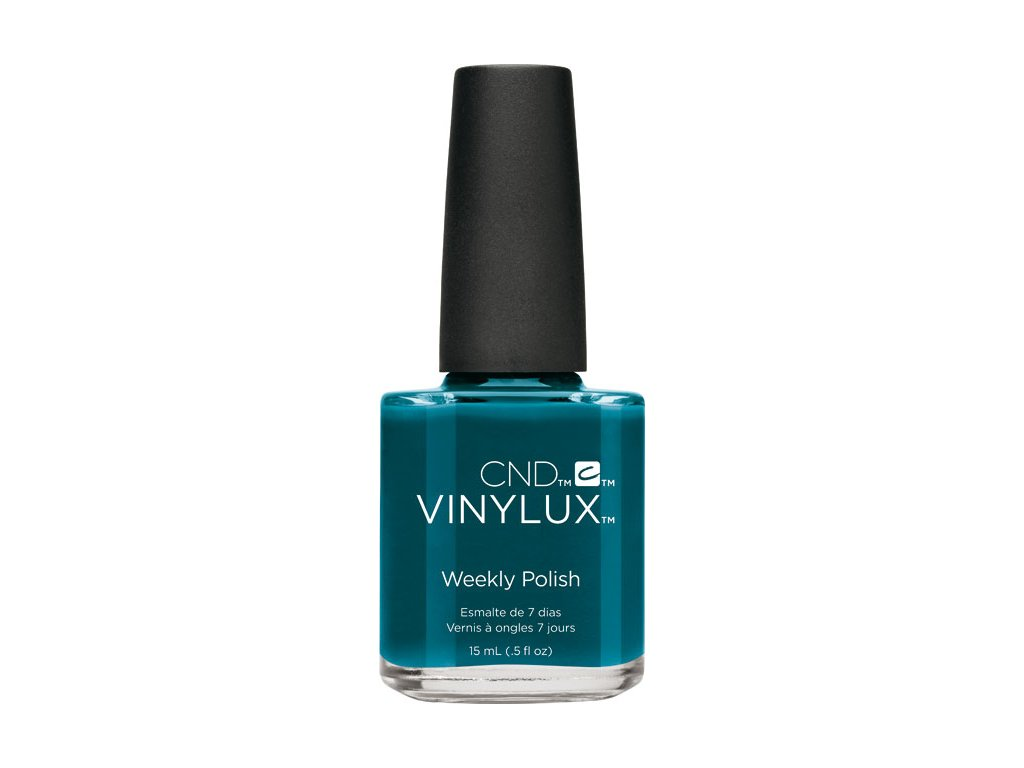 CND VINYLUX - WEEKLY POLISH - sơn móng một tuần - SPLASH OF TEAL (247) 0.5oz (15ml)