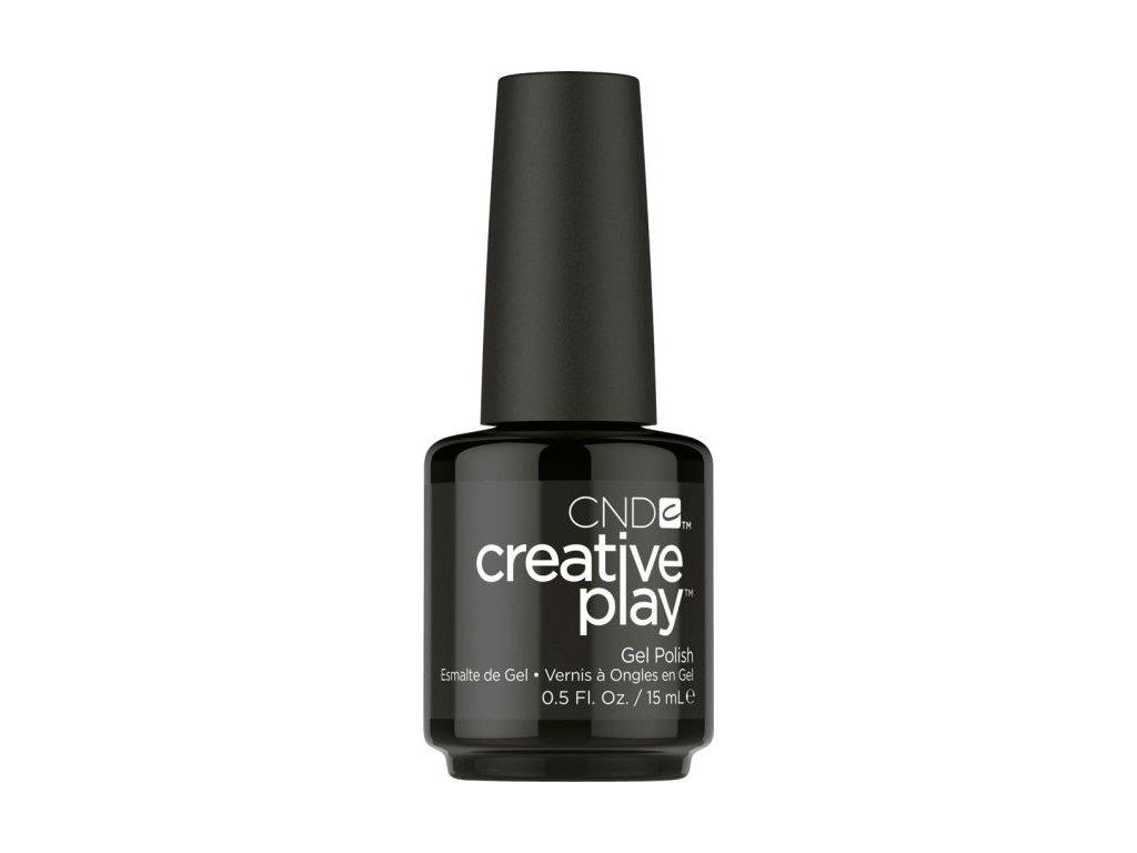 CND CND™ Creative Play™ SƠN-GEL - BLACK FORTH (451) 0.5oz (15ml)