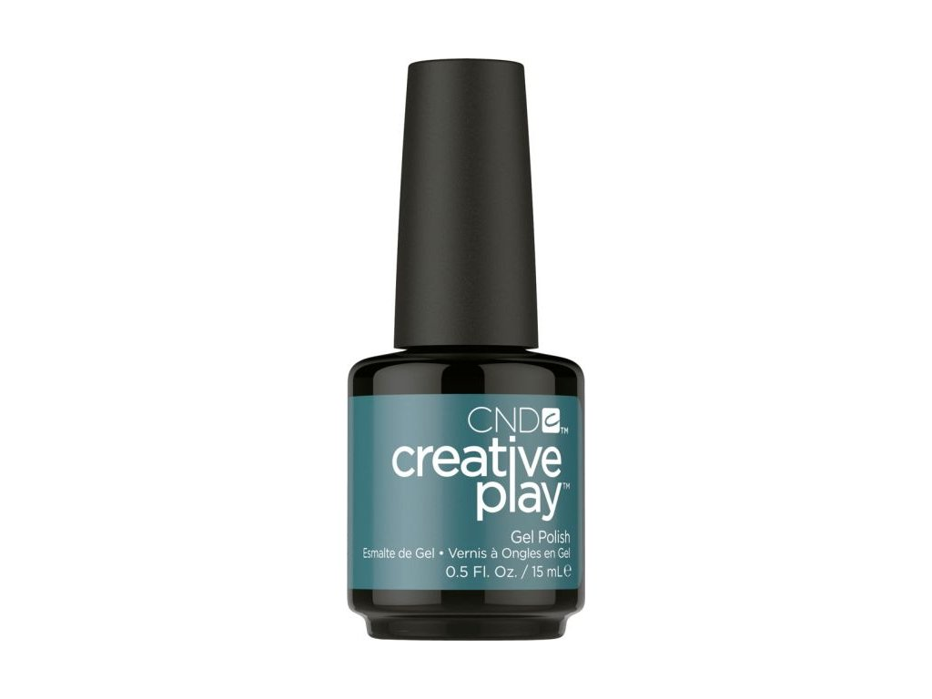 CND CND™ Creative Play™ SƠN-GEL - HEAD OVER TEAL (432) 0.5oz (15ml)