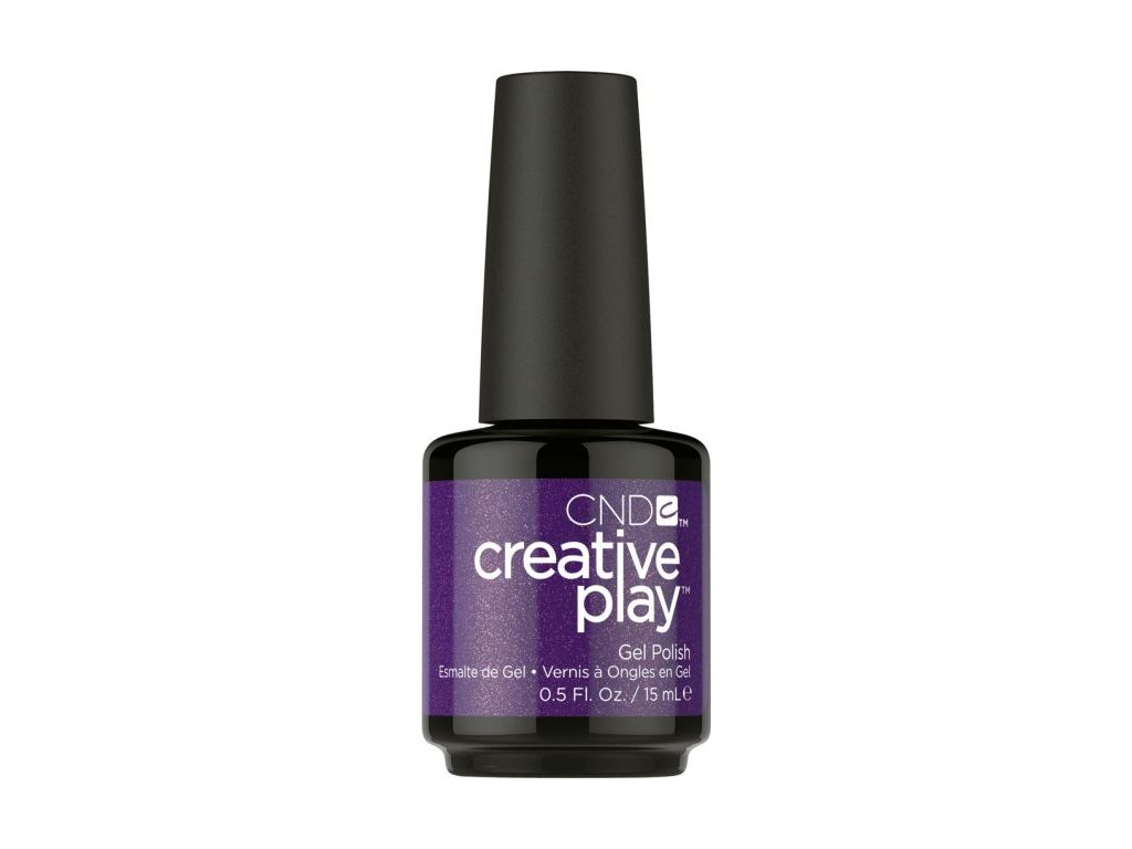 CND CND™ Creative Play™ GELLAK - MISS PURPLELARITY (455) 0.5oz (15ml)