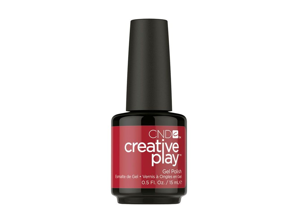 CND CND™ Creative Play™ GELLAK - RED Y TO ROLL (412) 0.5oz (15ml)