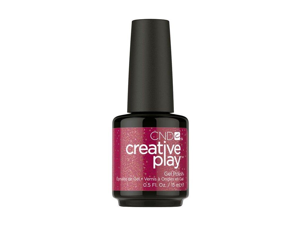 CND CND™ Creative Play™ SƠN-GEL - REVELRY RED (486) 0.5oz (15ml)