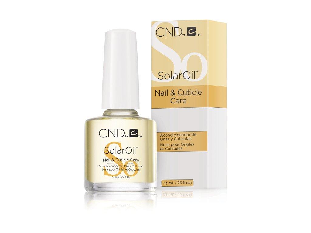 CND SOLAR OIL - dầu tự nhiên có vitamin E 0.25oz (7,3ml) gói mới