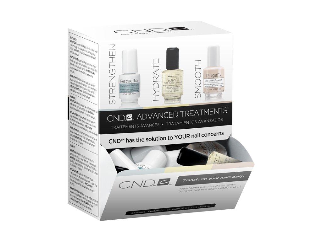 CND CND™ Chăm sóc móng  - 10 c RESCUERXX, 10 c SOLAROIL, 10 c RIDGEFX - 30 x 0.125oz (3.7ml)