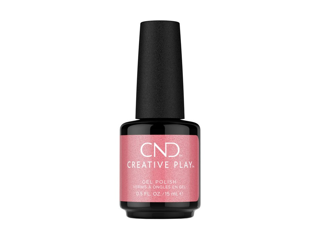 CND CND™ Creative Play™ GELLAK - PINK INTENSITY (528) 0.5oz (15ml)