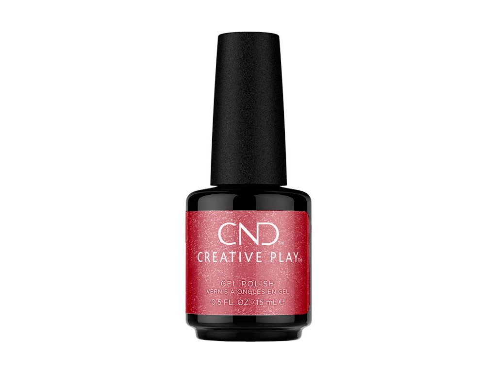 CND CND™ Creative Play™ GELLAK - RED RUSH (534) 0.5oz (15ml)