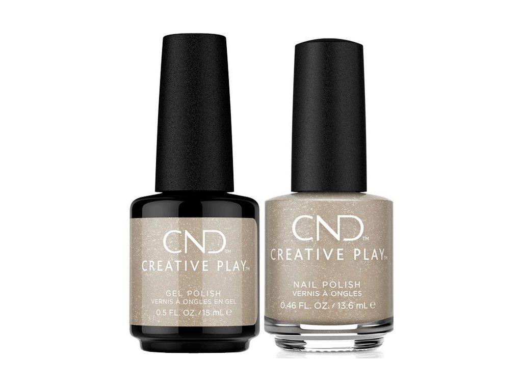 CND CND™ Creative Play™ DUO PACK- TINSEL TOWN (529) sơn và sơn gel (13,6ml a 15ml)