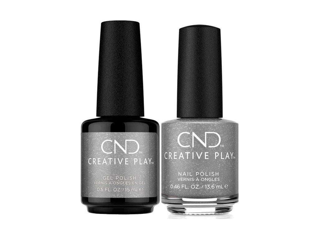 CND CND™ Creative Play™ DUO PACK- COIN DROP (531) sơn và sơn gel (13,6ml a 15ml)