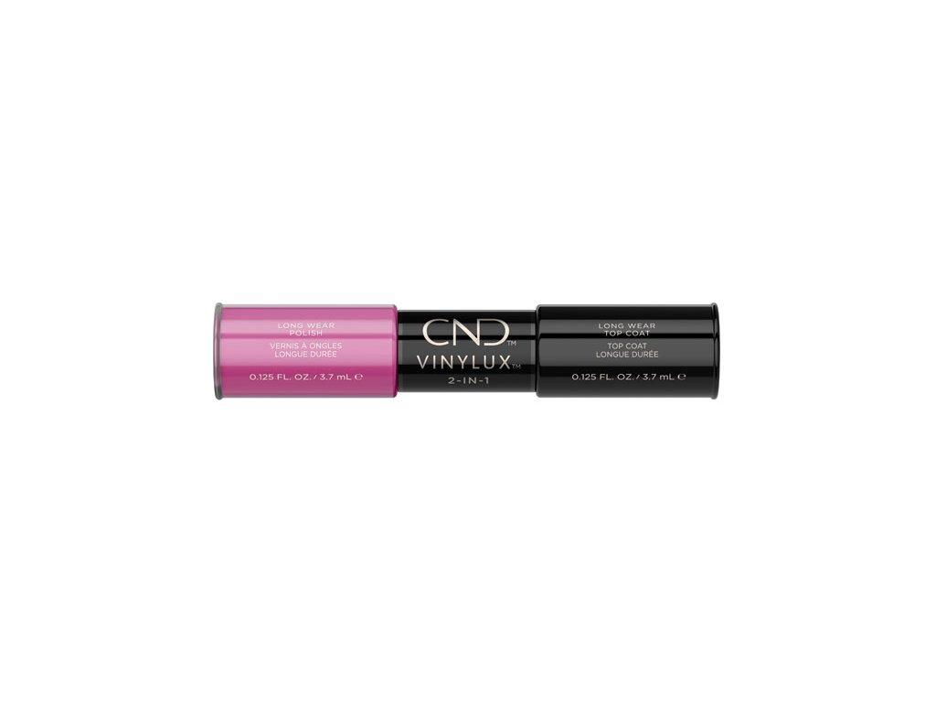CND VINYLUX™  2-IN-1 HOT POP PINK (#121) + WEEKLY TOP COAT, 2x 0.125oz (3,7 ml)